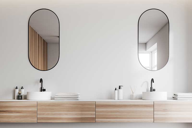 Replace Bathroom Vanity
