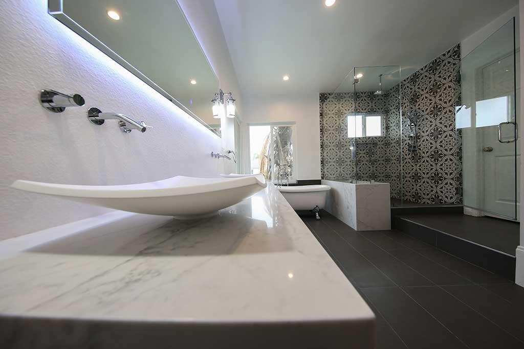 install vanity sink