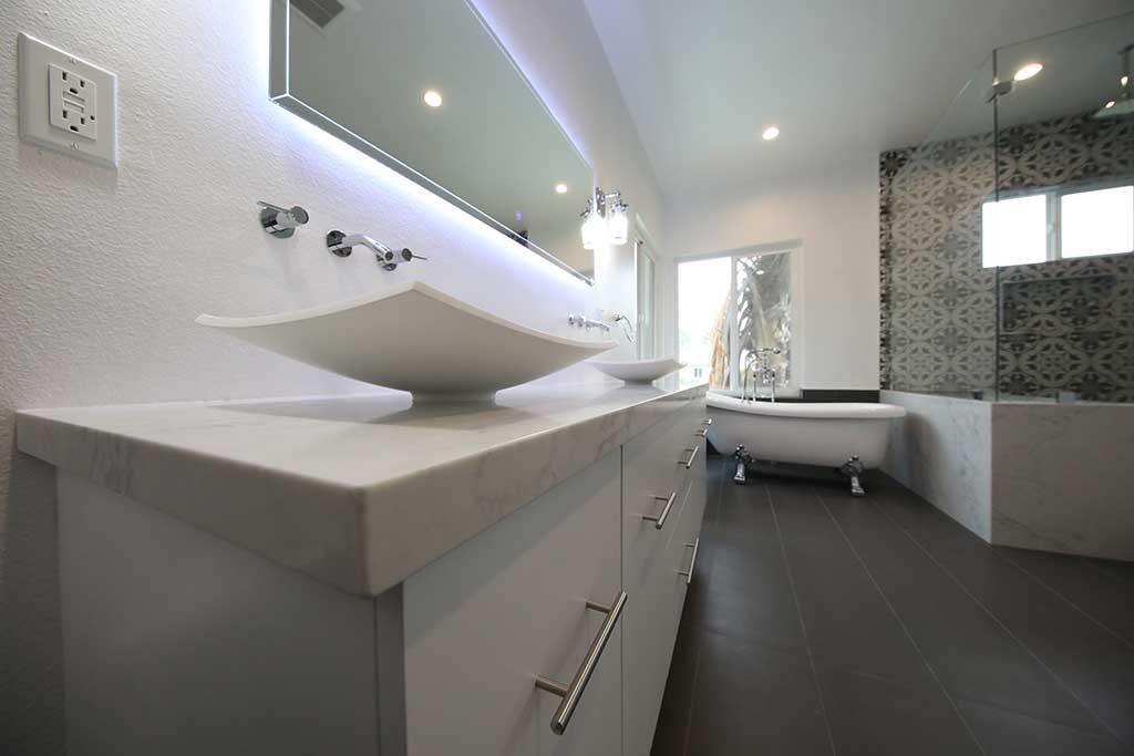 install vanity top