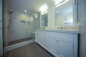 remodeling bathroom shower