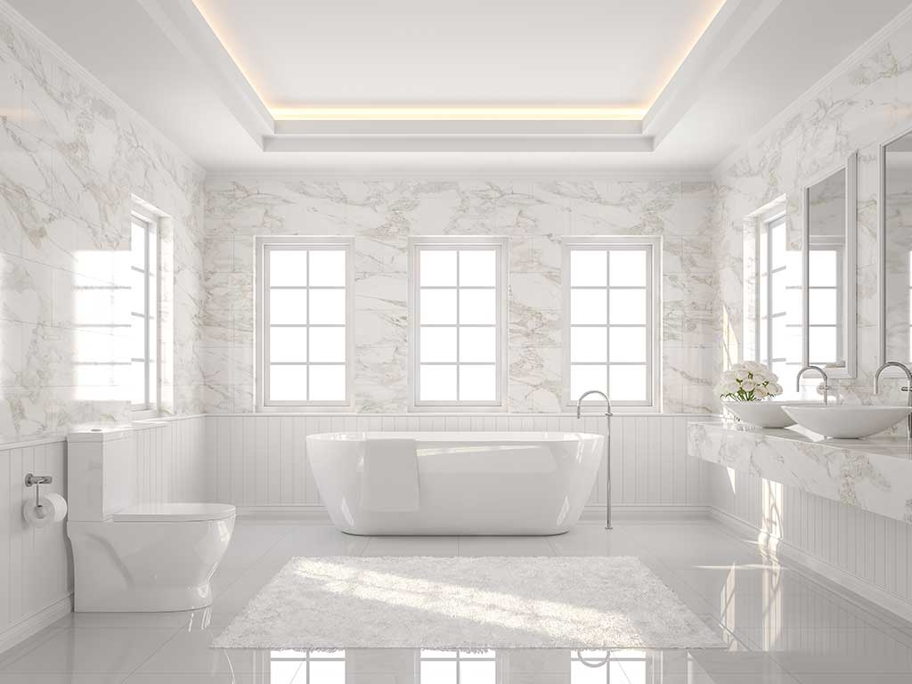 Natural stone floor tiles for b bathrooms