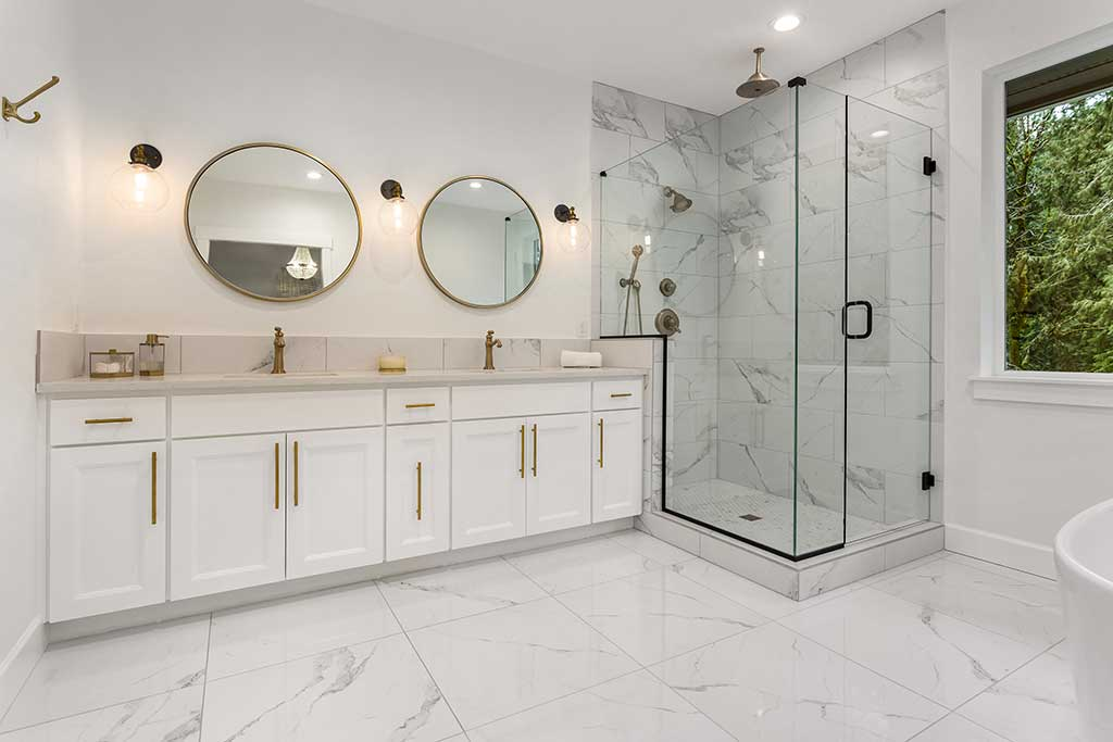Tile Floor Bathrooms Options