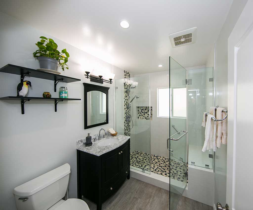 Bathroom Remodel Tilden Ave LA Vanity