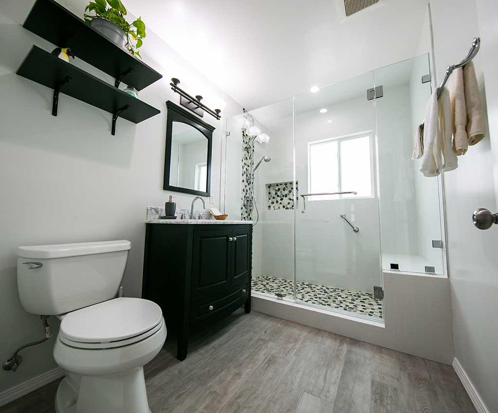Bathroom Remodel Tilden Ave LA Shower Tile