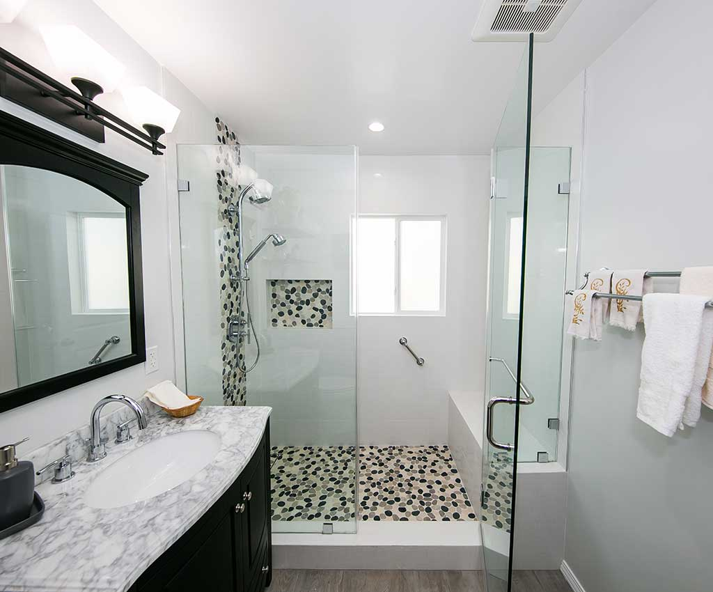 Bathroom Remodel Tilden Ave LA Bathtub