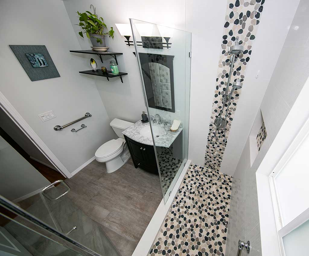 Bathroom Remodel Tilden Ave LA Tile