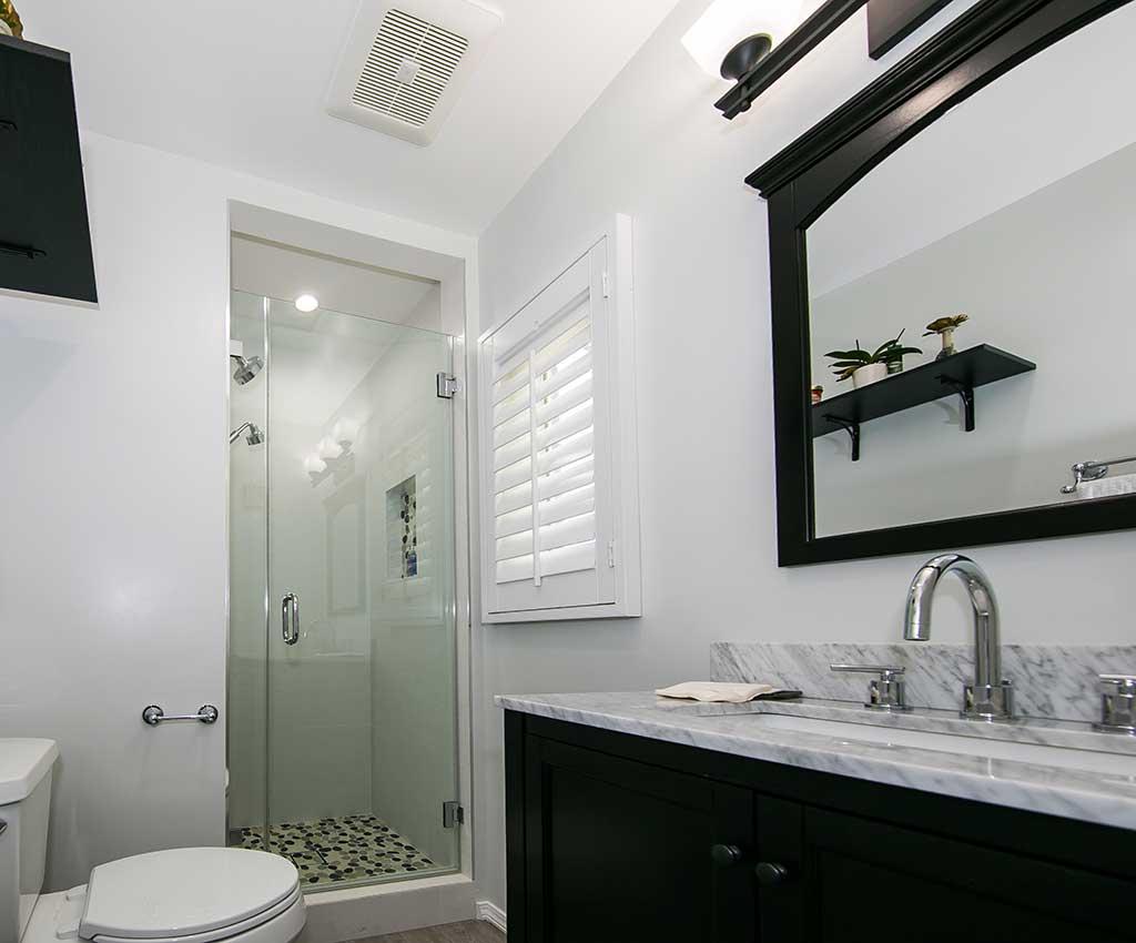 Bathroom Remodel Tilden Ave LA Fixtures